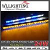 矢/狭い棒24 LEDのトラフィックの顧問のストロボのライトバー