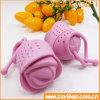 Tè Infuser del silicone della Rosa/materiale ecologico setaccio del tè
