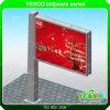 Soem-Entwurfs-Stahlkonstruktion-Datenbahn-im Freienbekanntmachenanschlagtafel