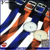 Montre célèbre de courroie de Perlon de montres de mode de dames de la marque Yxl-529 2016