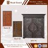 두 배 여닫이 문 또는 별장 정문 또는 집 문 석쇠 디자인