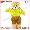 Urso macio do animal enchido do brinquedo do luxuoso para miúdos/estudantes