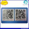 Etiqueta feita sob encomenda do papel Ntag213 NFC do código de Qr