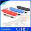 Lecteur flash USB populaire de PVC de forme de planche à roulettes de cadeau de mode