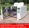 Sterilizzatore di palpitazione del vapore di vuoto dell'autoclave superiore del codice categoria B del banco con la stampante un vuoto di 3 volte e certificazione di secchezza Bts23 17L 23L di iso del Ce