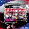 Stand cosmétique acrylique de rouge à lievres d'Orgaization de tiroirs de renivellement d'organisateur