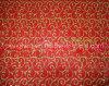 Organza bronziertes Dekoration-Gewebe des WeihnachtenSjhx018