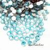 See-blaue Farberhinestone-Kristallnagel-Kunst-Acrylaufkleber-Diamant-Edelstein-Steine