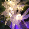 Solar Dragonfly LED String Light Holiday Lighting Luzes de Natal e Decorações