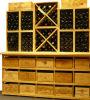 Cremalheira diferente do armazenamento do frasco dos tamanhos da cremalheira da adega de vinho da combinação