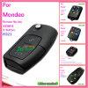 Verre Sleutel Filp voor AutoMondeo Fo21 met 3 Knoop 433MHz