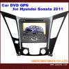 Hyundai Sonata 2011년 (HP-HS709L)를 위한 GPS를 가진 차 DVD