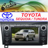 Toyota 세쿼이아 또는 동토대 (CT2D-ST8)를 위한 특별한 차 DVD 플레이어