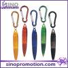 Penna di plastica più poco costosa del regalo promozionale del ricordo con Keychain