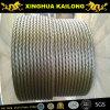 câble métallique de l'acier inoxydable 7x19