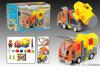 Carro a pilhas do brinquedo elétrico do bloco (H156206005)