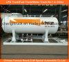 estación de relleno del patín de 5tons LPG para cocinar el cilindro de gas 10cbm para el mercado de Nigeria