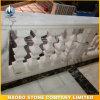 Pasamano de mármol blanco de piedra natural de Bianco Carrara