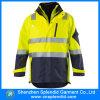Куртка пожаробезопасной безопасности видимости одежды высокой отражательная