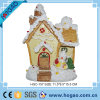 LED Light su Colour Changing Santa House Christmas Ornament Decoration