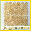 Interior Decorationのための半透明なHexagon Honey Onyx Mosaic