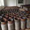 Acero inoxidable 304/316 junta de dilatación del metal para el campo de construcción