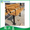 나무로 되는 판금 옥외 정원 벤치 도로 시설물 벤치 (FY-045X)