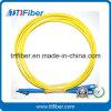 Cabo da correção de programa da fibra óptica do duplex 3.0mm da manutenção programada de SC/PC-LC/PC