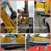 Nuevo-Libre-Repintar el excavador hidráulico de tamaño mediano usado Disponible-Interno-Combustión-Motor de la correa eslabonada de la retroexcavadora de Kobelco Sk200