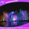 Fontaine de film d'écran d'eau de laser extérieure