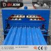 Edelstahl/runzelte die Dach-Panel-Farben-Stahlrolle, die Maschine bildet