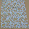 Polyester branco Water - Lace solúvel Fabric para Lady Garments Fw8001c