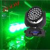 36PCS 12W RGBW 4 in 1 LEIDEN Gezoem die het HoofdLicht van de Was (yg-M07) bewegen