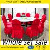 Restaurante usado alrededor de los vectores y de las sillas de banquete para la venta