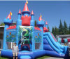 2016 neues Arrival Inflatable federnd Castle mit Slide