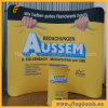 8FT Tissu de tension intérieure Stand Waveline Tube Exhibition Display