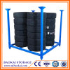 70X70 Inch Tyre Warehouse Logistic Steel Stillages FoldableおよびStackable