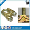 зажимы 1/8  гальванизированные томительноие-тягуч веревочек провода