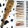 24  perruques de face de lacet non transformé des cheveux humains 7A de l'onde #12 de corps Main-Attachées
