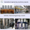 Máquinas biomédicas farmacéuticas industriales de los contratistas de Epcc que dirigen los proyectos P-04