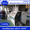 Standard europeo Wheat Flour Mill 200ton Per Day