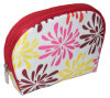 Bolsa cosmética promocional linda de la impresión geométrica pequeña para las muchachas