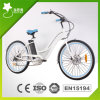 26inch 250W Beach Electric Bicycle wifh Acero Tenedor para Mujer