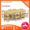 아이들 Wooden Table와 Chair Furniture Set