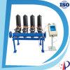 Fabricante hidráulico del filtro de agua de los discos plásticos negros de la cubierta