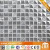 Glänzendes Mosaik-Glas-Silber, Wohnzimmer-Wand-Dekoration (G823014)
