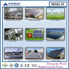 Sistema domestico del poli modulo solare