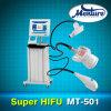 Ultrasonido enfocado de intensidad alta de Hifu que adelgaza la máquina