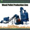 Petite usine en bois complète de moulin de boulette de mini de boulette machine de fabrication