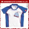 Swimwear de nylon respirável do protetor do prurido das crianças da luva curta (ELTRGJ-299)